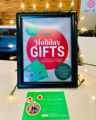 Have a holly jolly Christmas when you present your bestie with the greatest gift in 2020 - the gift of health!  With the Holiday Membership Pass, your guest can enjoy CHF for TWELVE consecutive days for FREE! Stop by our Service Desk to pick up your pass today!  Plus, don't forget to register for our new rewards program! When your guest joins the club, you get a little present in the form of referral points! Redeem your rewards on select products, branded gym gear, travel discounts, and more.  Visit RewardsforEveryone.com and sign up today!  Hurry, this is a limited time offer!  * Guest must be 18 years of age or older and a local resident. Passes must be validated by January 15th, 2021.
